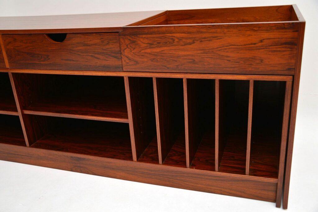 swedish danish rosewood vintage retro sideboard