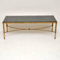 vintage_retro_antique_brass_marble_coffee_table_2