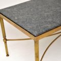 vintage_retro_antique_brass_marble_coffee_table_3