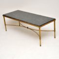 vintage_retro_antique_brass_marble_coffee_table_5