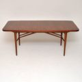 1960's Vintage Walnut Dining Table by Robert Heritage for Archie Shine