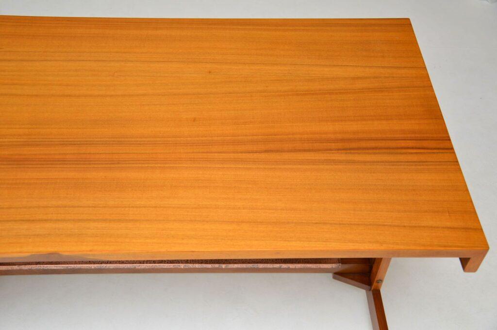 vintage retro walnut desk