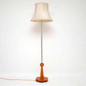 art deco period vintage antique floor lamp
