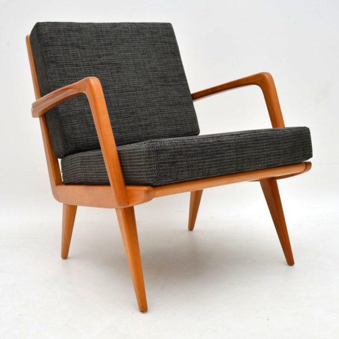 danish retro vintage armchair