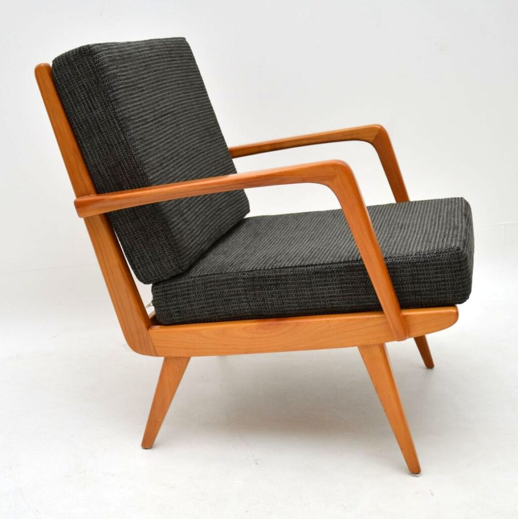 danish retro vintage armchair