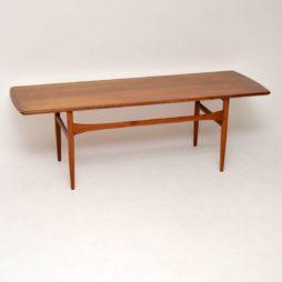 danish teak vintage retro coffee table