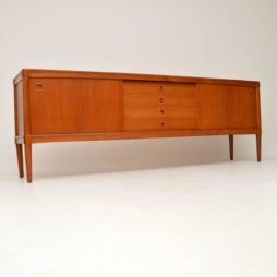 danish teak retro vintage sideboard hw klein for brahmin