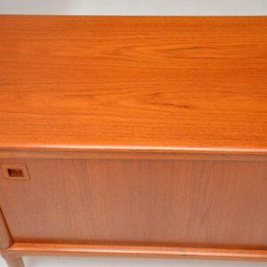 danish teak retro vintage sideboard hw klein for brahmin