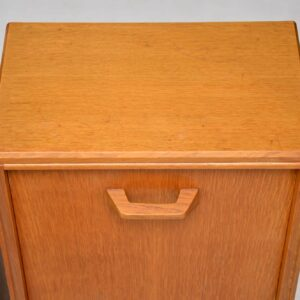 1950's Pair of Vintage Oak Bedside Cabinets by G- Plan