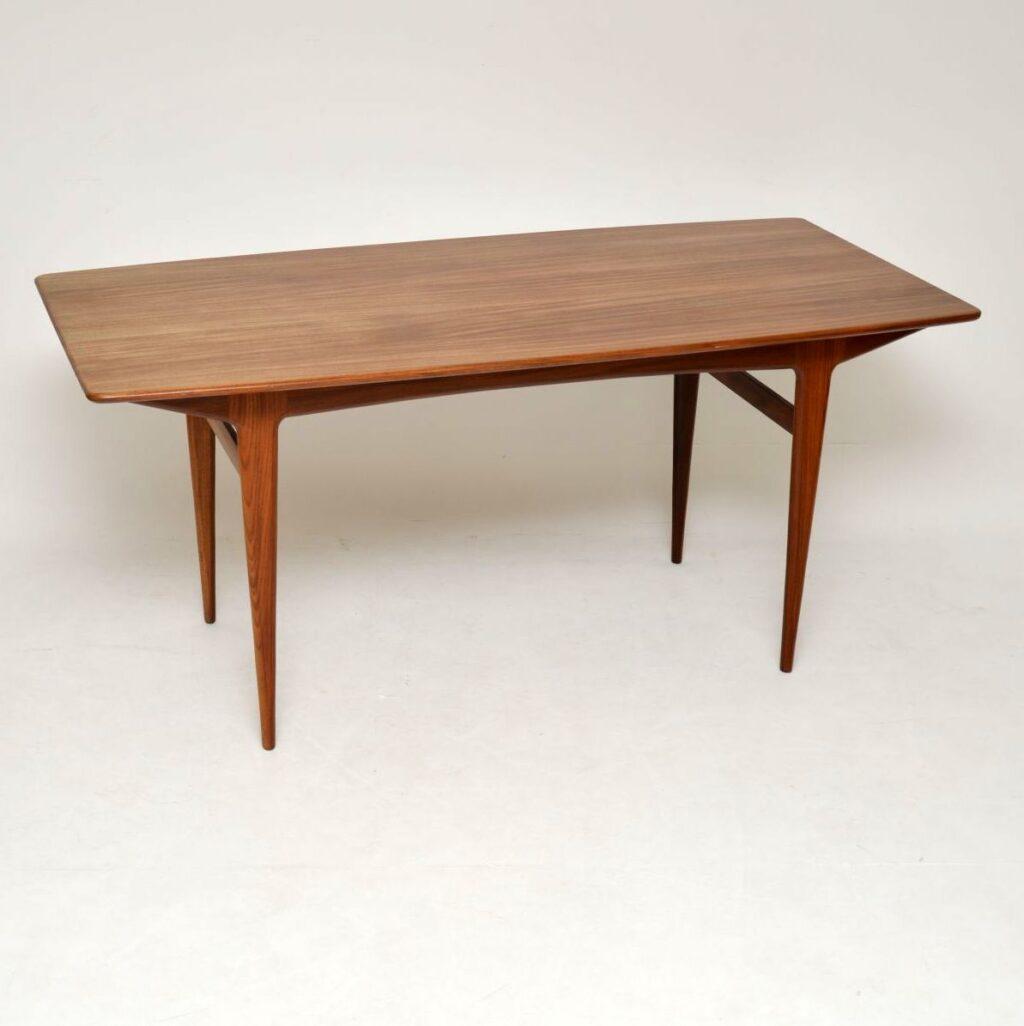 retro vintage danish dining table john herbert younger