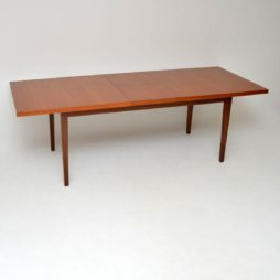 retro vintage teak dining table archie shine robert heritage dorrington