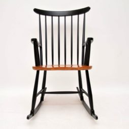 danish retro vintage rocking chair armchair ercol