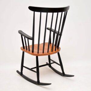 danish retro vintage rocking chair armchair ercol