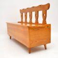 antique_vintage_retro_oak_elm_hall_chairs_bench_10