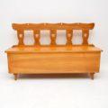 antique_vintage_retro_oak_elm_hall_chairs_bench_3