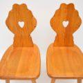 antique_vintage_retro_oak_elm_hall_chairs_bench_6