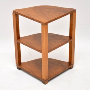 1920's Art Deco Walnut Nesting Coffee Table