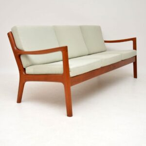 danish teak retro vintage senator sofa ole wanscher