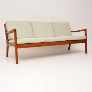 danish teak retro senator sofa by ole wanscher