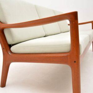 1960's Danish Teak Vintage Senator Sofa by Ole Wanscher