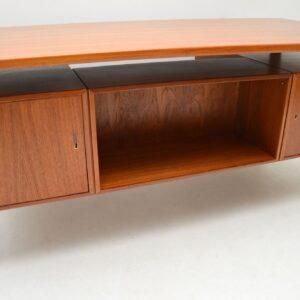 1960's Danish Teak Desk by Kai Kristiansen