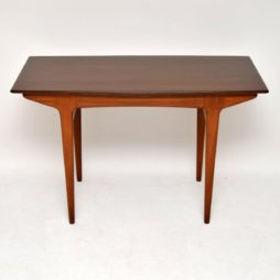 vintage retro afromosia desk dining table john herbert younger