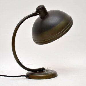 1940's Vintage Bauhaus Style Desk Lamp