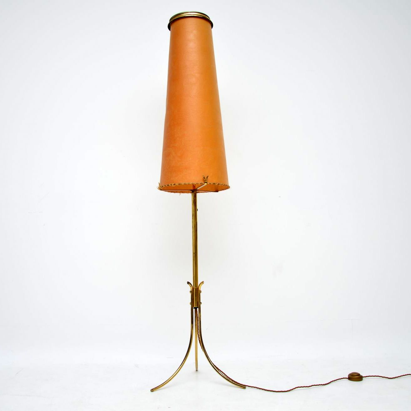 retro vintage brass lamp