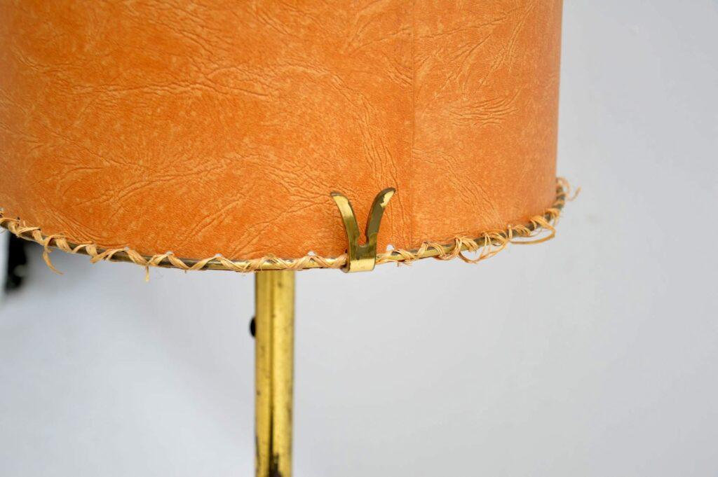 retro vintage brass lamp