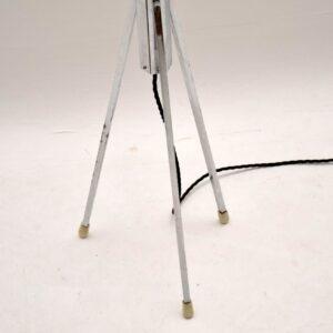 1960's Vintage Chrome Floor Lamp
