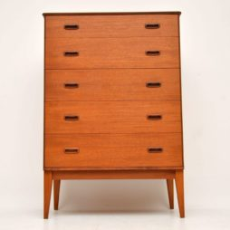 danish retro teak vintage chest of drawers austinsuite