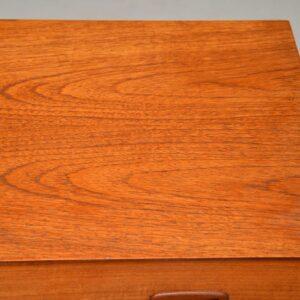 danish retro teak vintage chest of drawers austinsuite