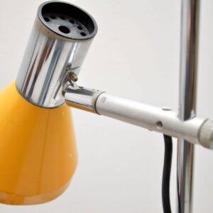 1960's Vintage Chrome Lamp
