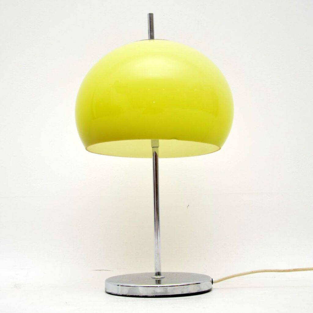 vintage retro italian lamp harvey guzzini