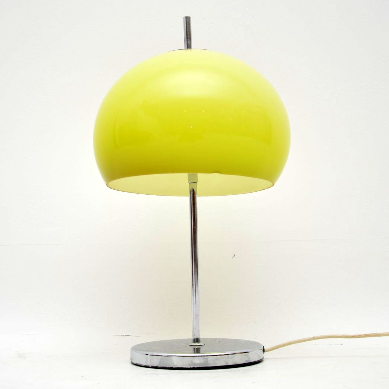 vintage retro italian lamp harvey guzzini