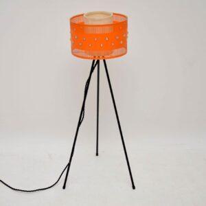 1950's Vintage Tripod Floor Lamp