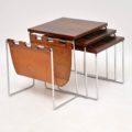 retro_vintage_rosewood_nest_of_tables_magazine_rack_brabantus_2