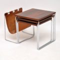 retro_vintage_rosewood_nest_of_tables_magazine_rack_brabantus_3