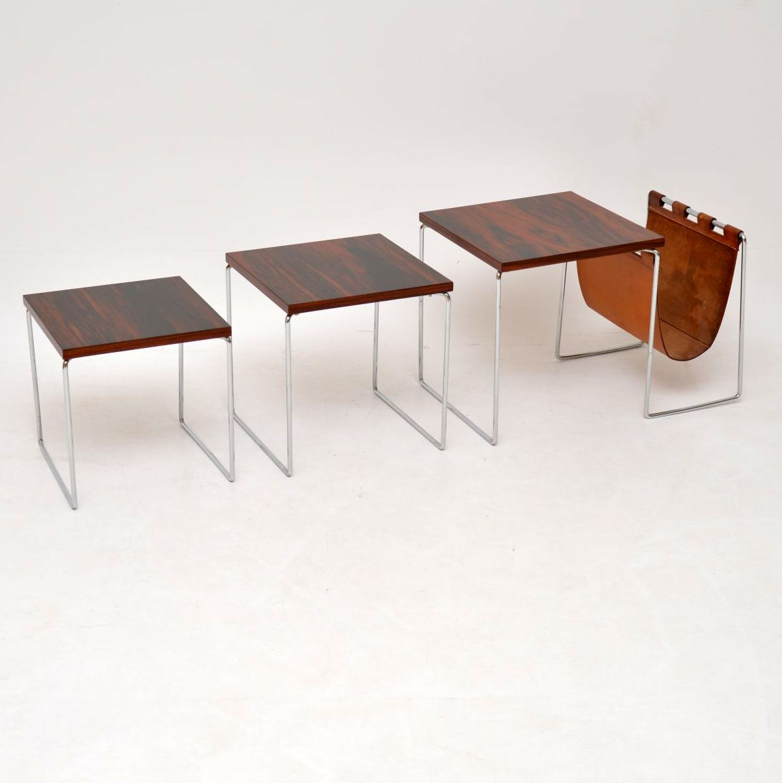 retro_vintage_rosewood_nest_of_tables_magazine_rack_brabantus_4