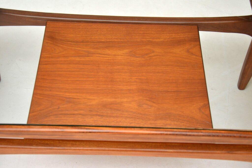 teak retro vintage coffee table by g- plan