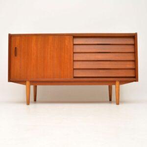 swedish danish retro vintage teak sideboard nils jonsson troeds
