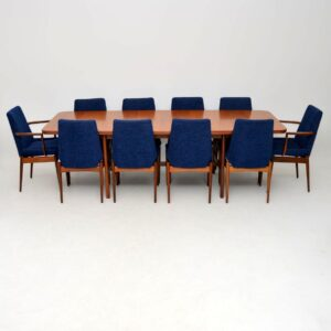 archie shine robert heritage teak dining table chairs retro vintage