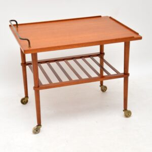 1960's Danish Teak Drinks Trolley by Arne Hovmand Olsen