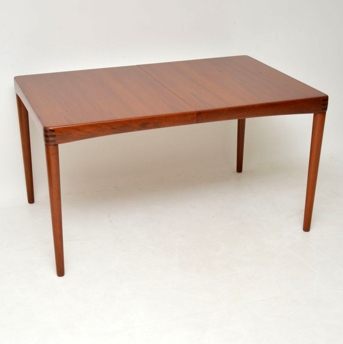 danish teak retro vintage dining table by bramin