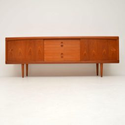 danish teak retro vintage sideboard by bramin