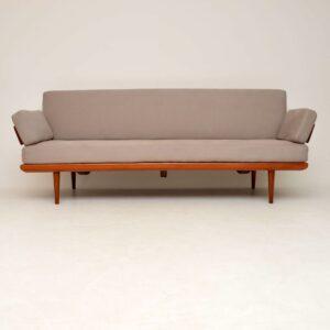 danish teak retro vintage sofa daybed peter hvidt