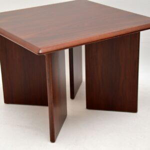 1970's Pair of Danish Vintage Rosewood Side Tables