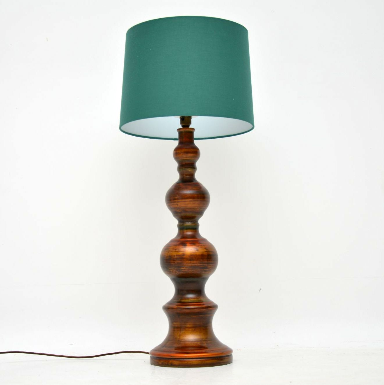 retro vintage ceramic table lamp