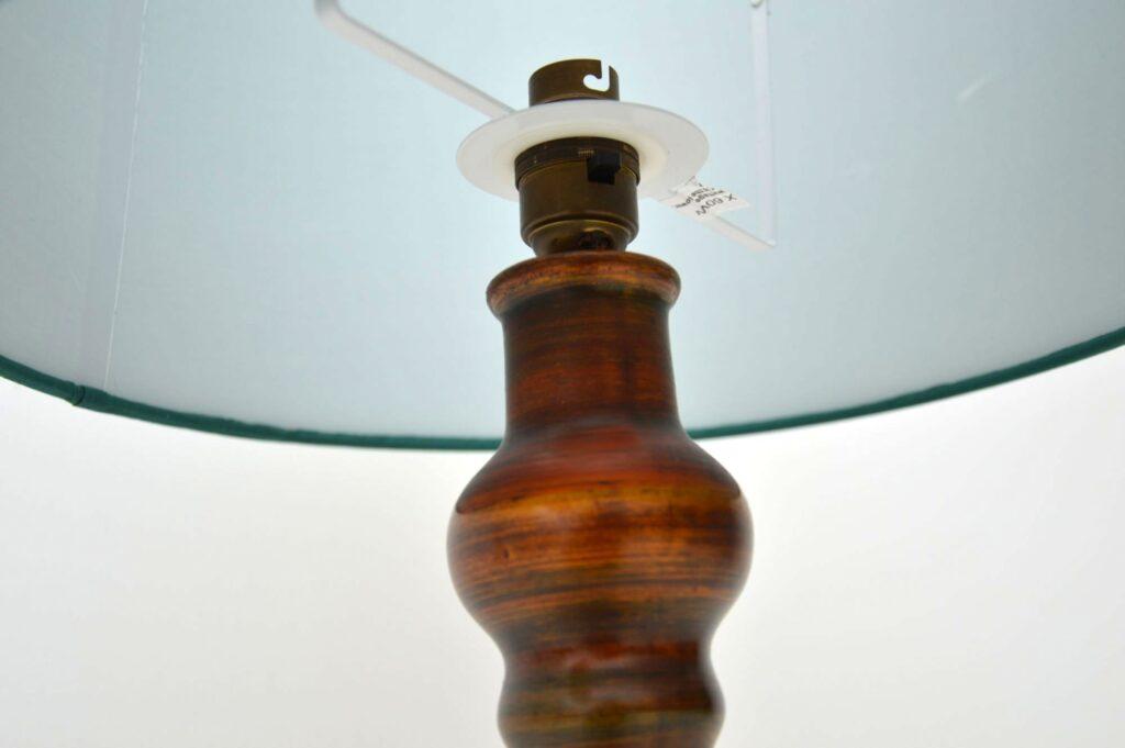 retro vintage ceramic table lamp