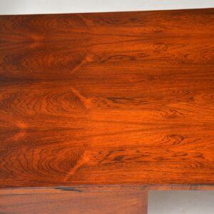 1960's Vintage Rosewood & Chrome Executive Desk